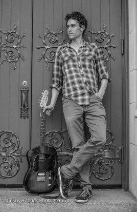Sam Standing Guitar